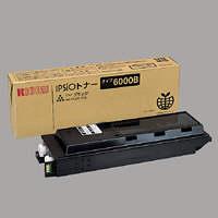 リコー レーザートナーカートリッジ タイプ6000B B ブラック 636349 (直送品)