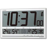 リズム時計(RHYTHM) CITIZEN(シチズン) ペールナビ [電波 置き 時計] 8RZ147-003 1個 (直送品)