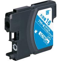 エコリカ リサイクルインク ECI-BR16C シアン(大容量)(アスクル限定)(ブラザー LC16C互換) (取寄品)