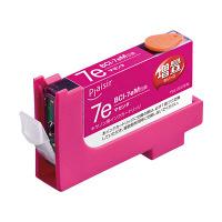 プレジール 互換インク PLE-ZCA07EM マゼンタ(大容量)(キヤノン BCI-7eM互換) (取寄品)