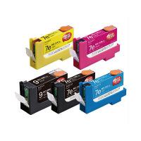プレジール 互換インク PLE-ZCA07E09B5P 1パック(大容量5色入)(キヤノン BCI-7e9BK互換) (取寄品)