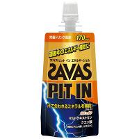 ザバス(SAVAS) ピットインエネルギージェル 栄養ドリンク風味 69g 明治 栄養補助ゼリー