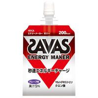 ザバス(SAVAS) エナジーメーカーゼリー 180g 明治 栄養補助ゼリー