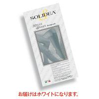 トップ SOLIDEAストッキングRelaxUnisex 圧迫圧16~20hpa(12~15mmHg) ホワイト L 30122 1足(2本)