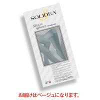 トップ SOLIDEAストッキングRelaxUnisex(オープントウタイプ) 圧迫圧24~28hpa(18~21mmHg) ベージュ M 1足(2本)