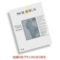 トップ SOLIDEAストッキングWonderModel(オープントウタイプ) 圧迫圧24~28hpa(18~21mmHg) ブラック M 1枚