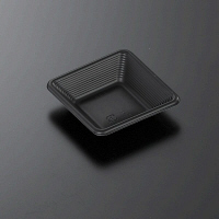 SDstyle フラットスクエア 90mm 本体 ブラック 1箱(3000枚:50枚入×60袋)