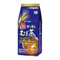 【水出し可】伊藤園 香り薫るむぎ茶 国産プレミアム ティーバッグ 1袋(24バッグ入)