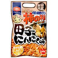 東北限定 亀田の柿の種 田子にんにく味