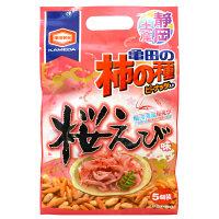 静岡土産 亀田の柿の種 桜えび味