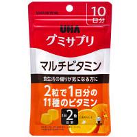 UHAグミサプリ マルチビタミン 10日分 UHA味覚糖 サプリメント