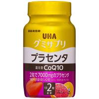 UHAグミサプリ 還元型コエンザイムQ10 プラセンタ ボトルタイプタイプ 20日分 UHA味覚糖 サプリメント