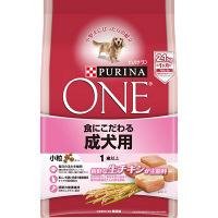 PURINA ONE(ピュリナワン) ドッグフード 食にこだわる 成犬用 チキン 2.1kg 1袋 ネスレ日本