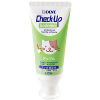 DENT Check-Upkodomo(デント チェックアップコドモ) アップル 60g ライオン 歯磨き粉(子供用)