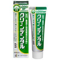 クリーンデンタル センシティブa フレッシュミント 100g 第一三共ヘルスケア 歯磨き粉