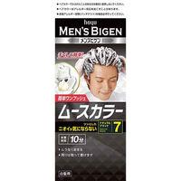 メンズビゲン ムースカラー 白髪染め 7 ナチュラルブラック hoyu(ホーユー)