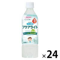 WAKODO ベビーのじかん アクアライト 白ぶどう 500ml 1セット(24本)