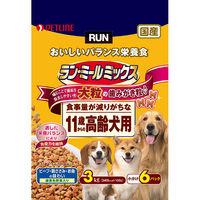 ラン・ミールミックス ドッグフード 大粒 11歳からの高齢犬用 3Kg(小分け6パック) 1個 日清ペットフード