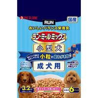 ラン・ミールミックス ドッグフード 小型犬 1歳~6歳までの成犬用 3.2Kg(小分け6パック) 1個 日清ペットフード