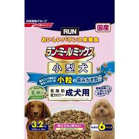 ラン・ミールミックス ドッグフード 小型犬 低脂肪・低カロリー 1歳~6歳までの成犬用 3.2kg(小分け6パック) 1個 日清ペットフード