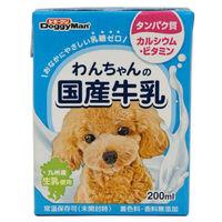 DoggyMan(ドギーマン) ドッグフード わんちゃんの国産牛乳 200ml 1個