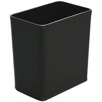 レザータッチゴミ箱 角小 8.3L