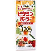 富永貿易 ビタミンパーラー(紙パック) 200ml 1箱(24本入)