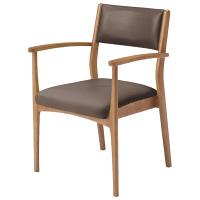 コイズミファニテック 介護施設用椅子 GMC-R1-CC-B ココア/ブラウン