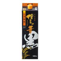 博多の華 黒麹麦焼酎 25度1800ml