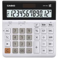 カシオ計算機 電卓 横長タイプ 卓上サイズ DW-120L-N