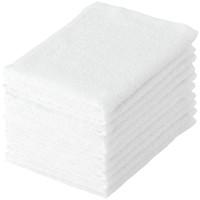 テンダイ ライトカラーおしぼりタオル ホワイト 280×400mm 1パック(10枚)