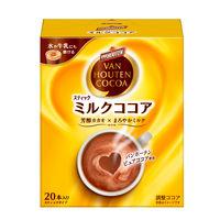 片岡物産 バンホーテン ザ・ココア ミルクココア 1箱(20本入)