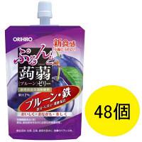 ぷるんと蒟蒻ゼリー スタンディングタイプ 鉄 1ケース(48個) オリヒロ 栄養補助ゼリー