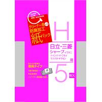 サンテックオプト クリーナー紙パック日立・三菱・シャープ用 SK-05H 1袋(5枚入)