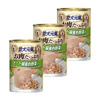 愛犬元気 缶 ビーフ&野菜 375g