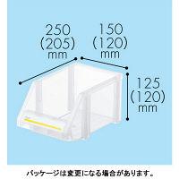 現場のチカラ 組み合わせ収納ボックス クリア M 1セット(8個)