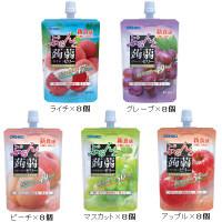 ぷるんと蒟蒻ゼリー人気フルーツ5種セット