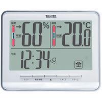 タニタ デジタル温湿度計 TT-538-WH 1セット(3個入)