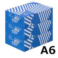 コピー用紙 マルチペーパー スーパーエコノミー+ A6 1セット(1500枚:500枚入×3冊) 高白色 アスクル
