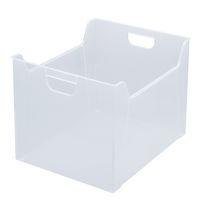 ナカバヤシ ファイルボックス 半透明 E05 A4 FB-E05
