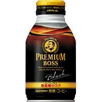 【缶コーヒー】サントリー プレミアム BOSS(ボス) ブラック無糖 ボトル缶 285g 1箱(24缶入)