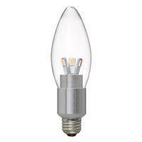 ヤザワコーポレーション シャンデリア電球形LED電球 電球色 E17 LDC4LG32E17