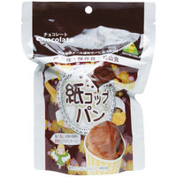 <LOHACO> 東京ファインフーズ 紙コップパン(チョコ) KC30 1箱(30袋入)画像