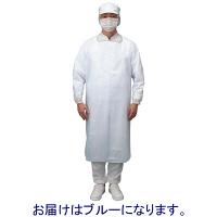 伊藤忠リーテイルリンク ポリエチレンガウン ゴムタイプ ブルー PEG-4 1箱(20枚入)