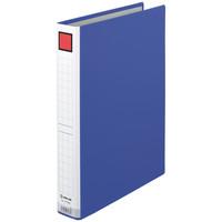 キングジム ドッチファイルエコノミー とじ厚30mm 青 A4タテ 1073Nアオ 1箱(10冊入)