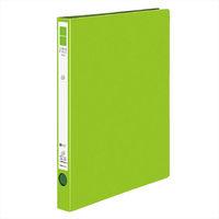 リングファイルA4縦 背幅29mm 黄緑