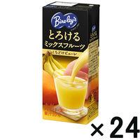 【アウトレット】バヤリース とろけるミックスフルーツ LL250 1箱 (24本入)