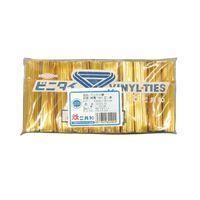 共和 ビニタイ(R)PET3層 80mm ゴールド QA-080-11T 1袋(1000本入)