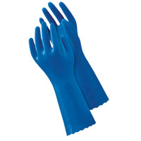 ショーワグローブ 「現場のチカラ」 簡易包装ブルーフィット Lサイズ 青 NO181-L 1セット(30双)