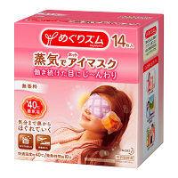 めぐりズム蒸気でホットアイマスク 無香料 1ケース(14枚入×12箱) 花王